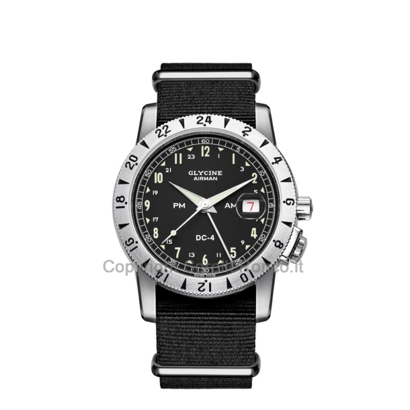 Airman DC-4 GMT Nero 42mm