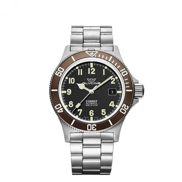 GL0171 - Glycine Combat Sub Marrone 42mm