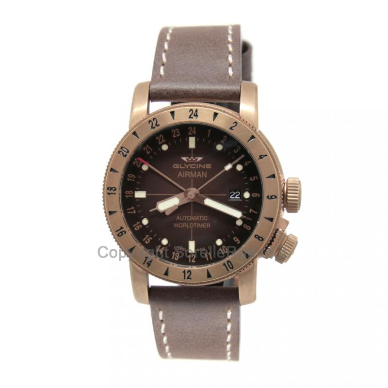 Airman World Timer Bronzo 44mm