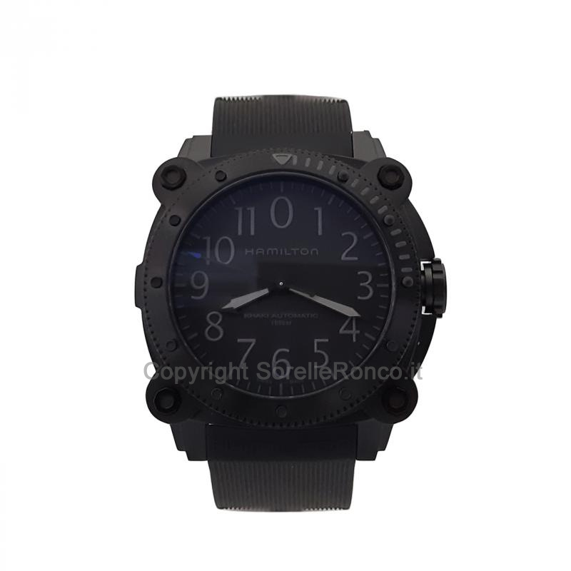 Khaki Navy BeLOWZERO Limited Edition 46mm Nero