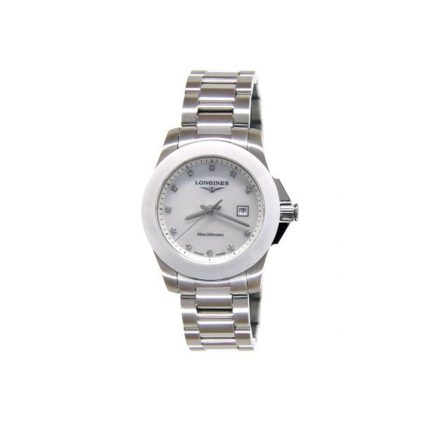 L32574876 - Longines Conquest Lady 29,5mm Madreperla Diamanti