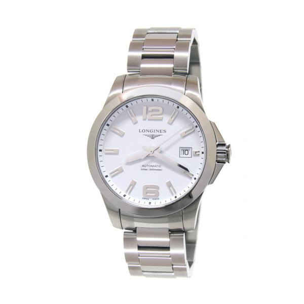 L37764166 - Longines Conquest Bianco Opaco Automatico 39mm