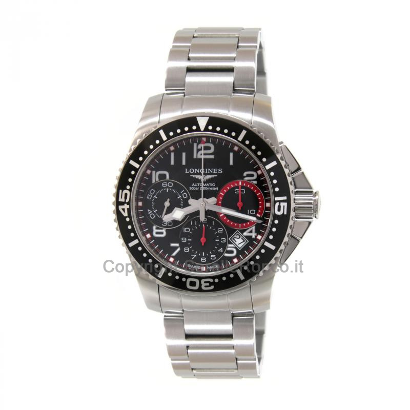 Hydroconquest  Chrono Automatico 41mm Nero
