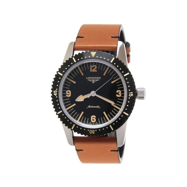 L28224562 - Longines Heritage Skin Diver 42mm Nero Marrone