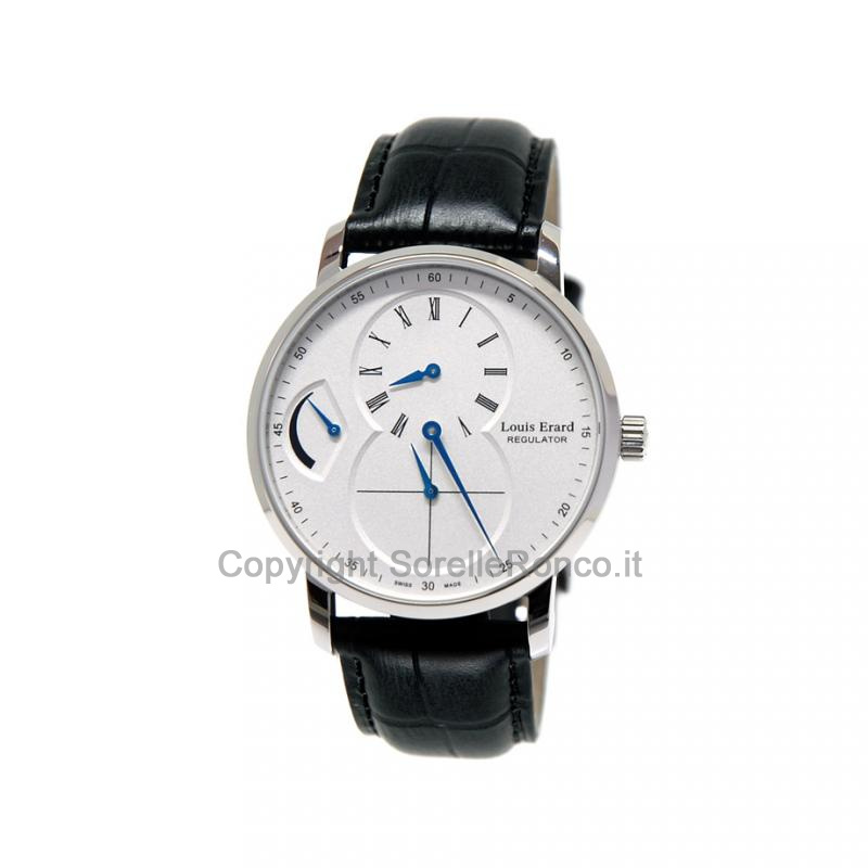 Excellence Regolatore Silver 40mm Pelle Limited Edition