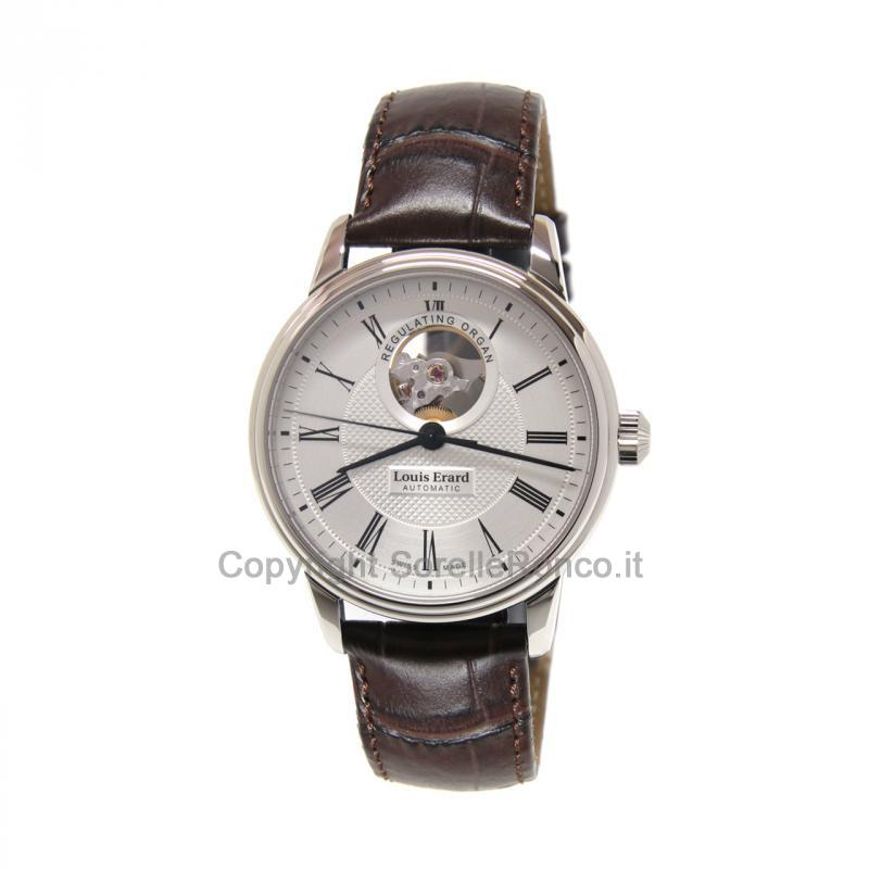 Heritage Classic 40mm Silver Scheletrato Pelle Marrone