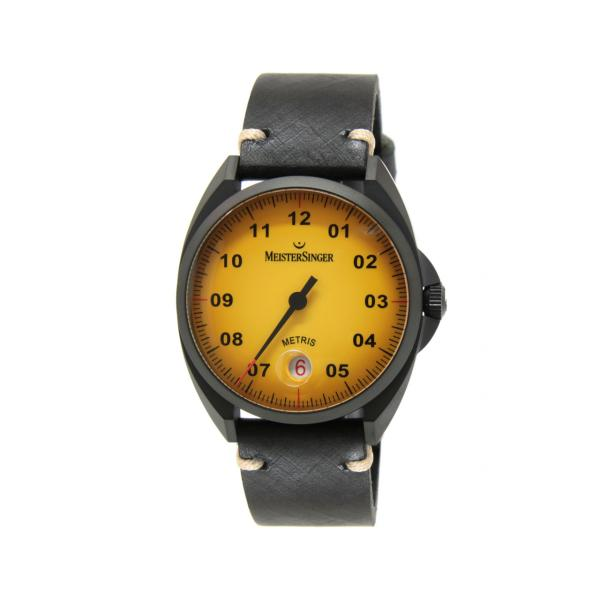 ME905BL - Meistersinger Specials 38mm Giallo Pelle Auto