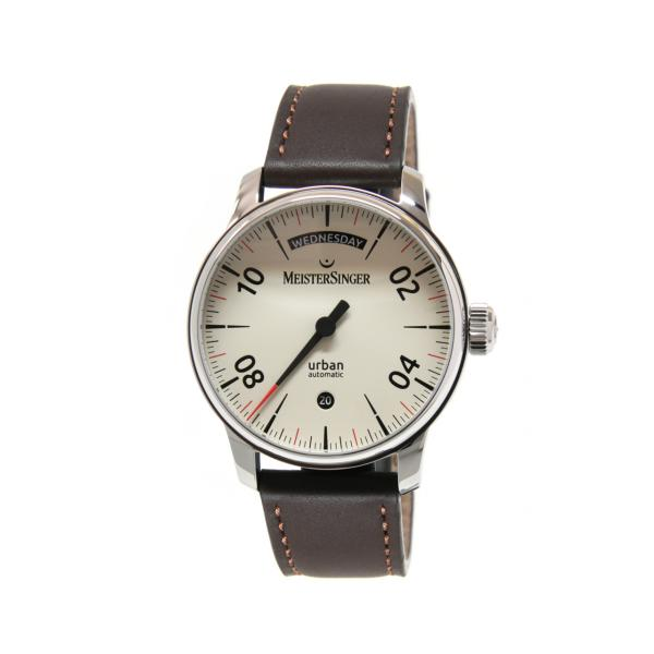 URDD913 - Meistersinger Form&Style Casual Day Date Avorio 40