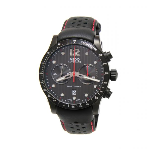 M0256273606100 - Mido Multifort Chrono 44mm Antracite Alluminio