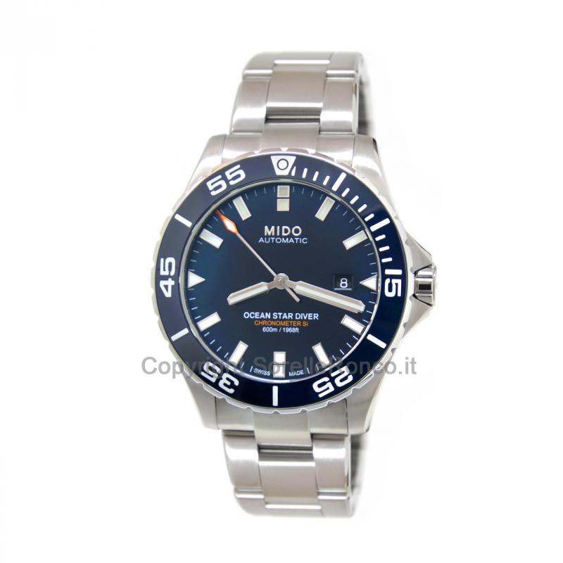 Ocean Star Diver Automatico 43mm Blu Mare