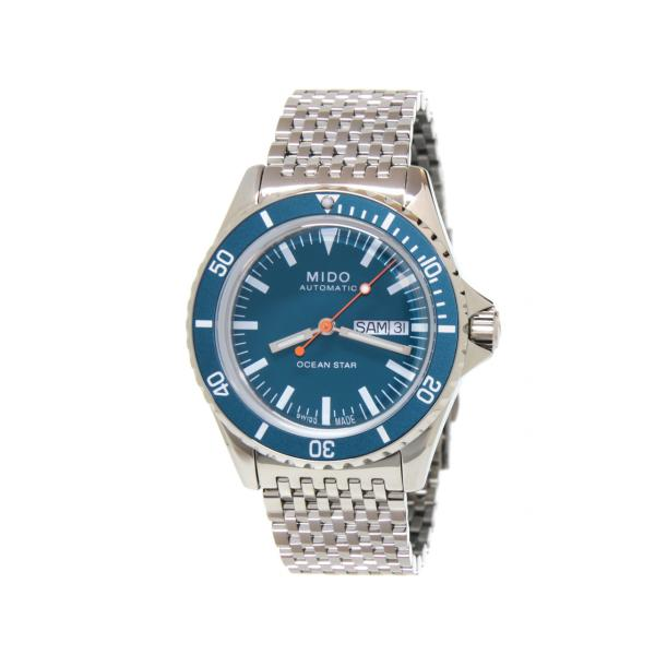 M0268301104100 - Mido Oceans Star Tribute 40mm Blu Special Edition