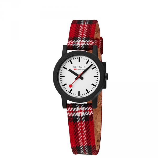 MS1-32111-LC - Mondaine Limited Essence Scottish Rosso 32mm