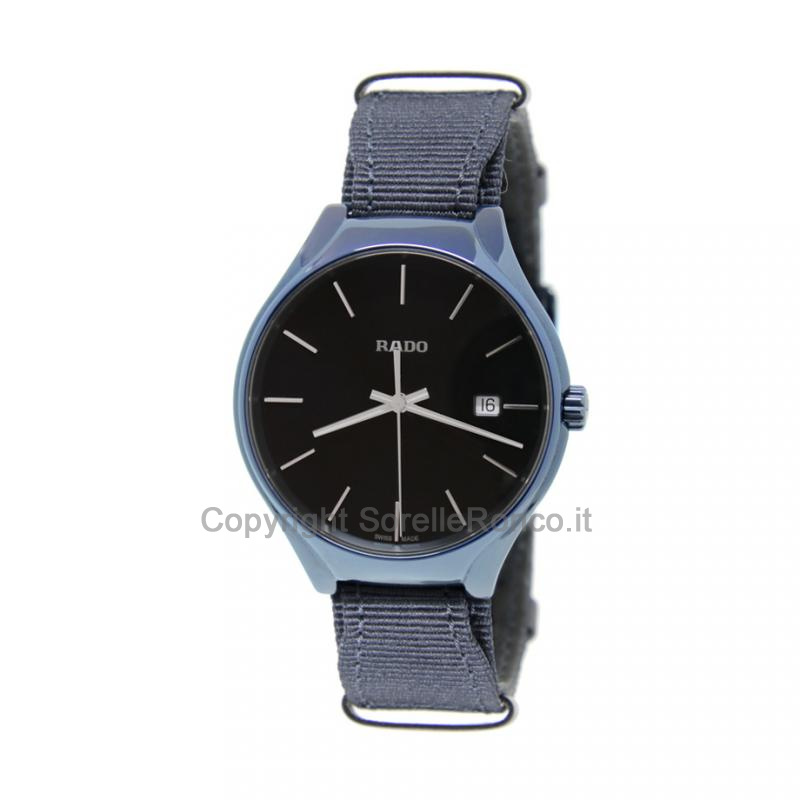True CERAMICA BLU Quarzo 38mm con NATO