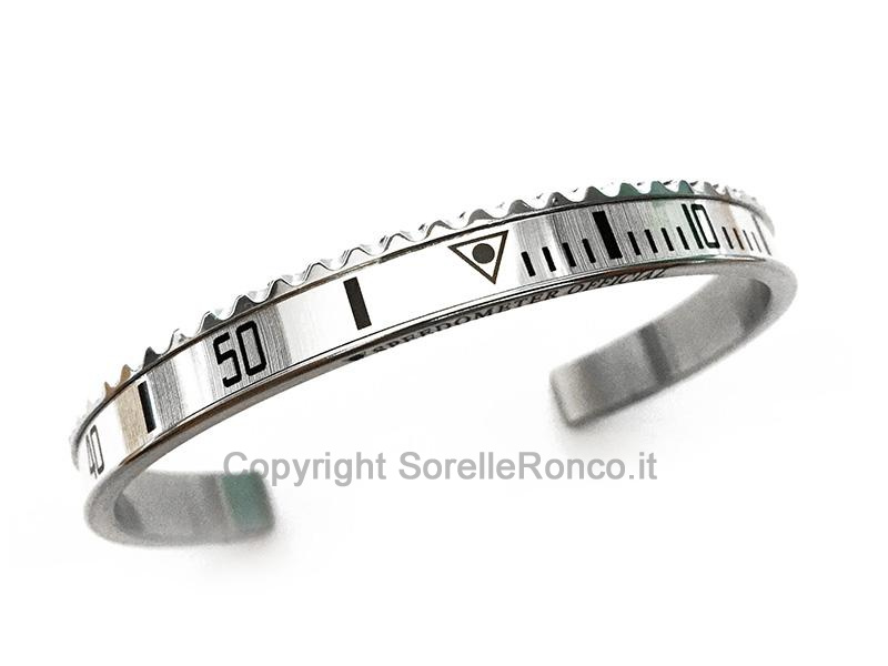BRACCIALE SPEEDOMETER OFFICIAL GHIERA BIANCO MGT