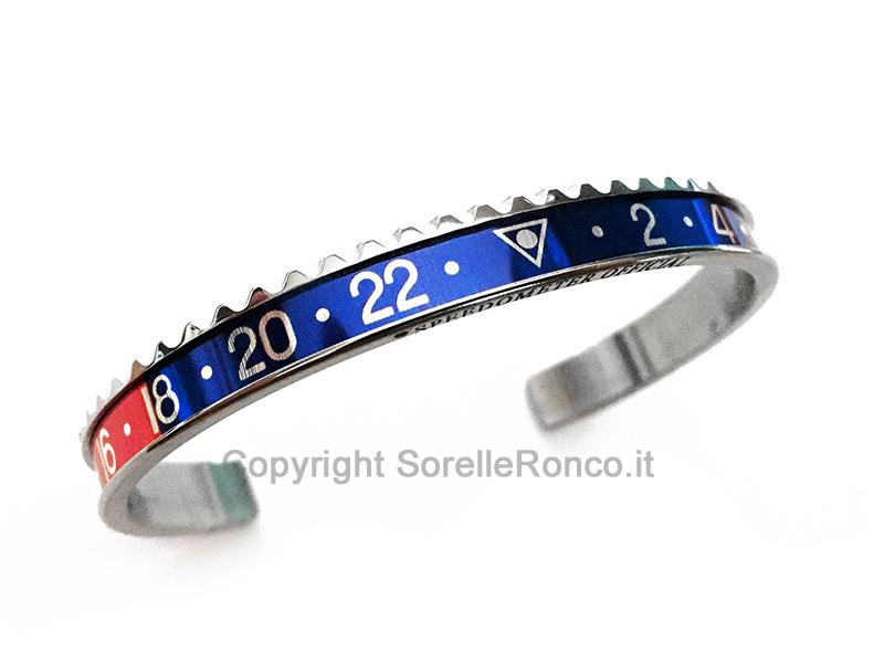 Speedometer Official Bracciale Rosso Blu
