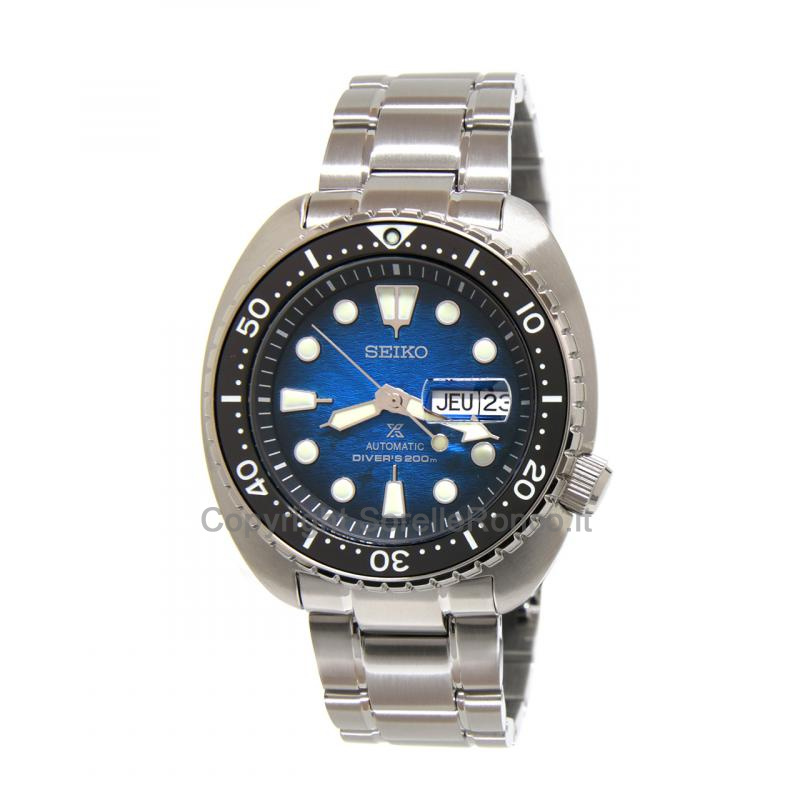 Save The Ocean 45mm Blu Bracciale Acciaio Day Date