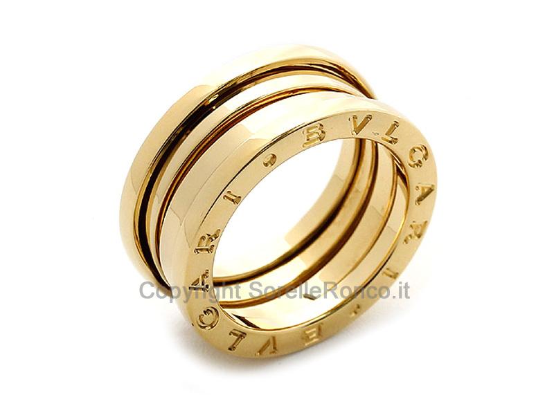 Anello b zero1 prezzo offerta anello bulgari an191023 for Collezione bulgari