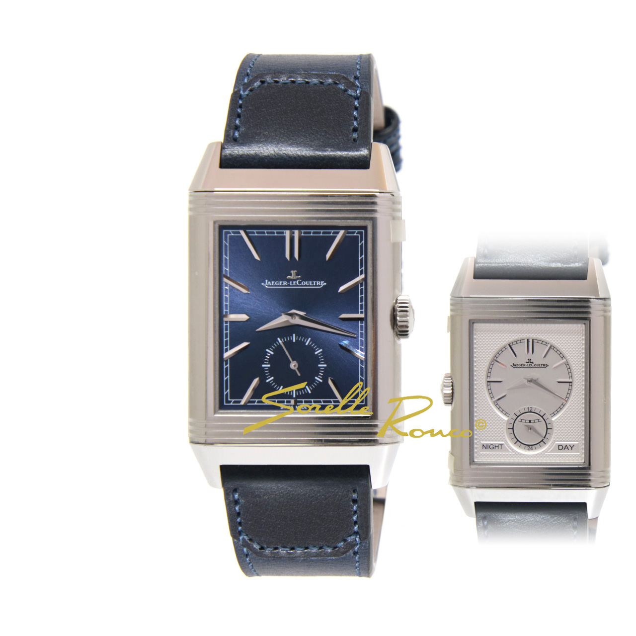 Reverso Tribute Duoface Small Second Carica Manuale