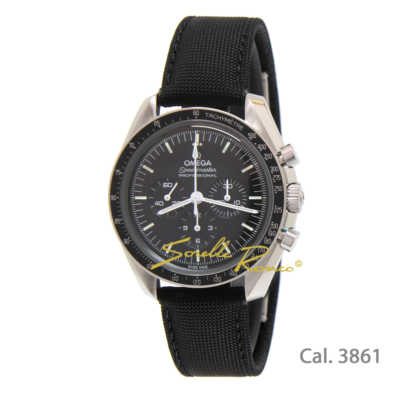 Nuovo Speedmaster Moonwatch Co-Axial 42mm Esalite Cal.3861