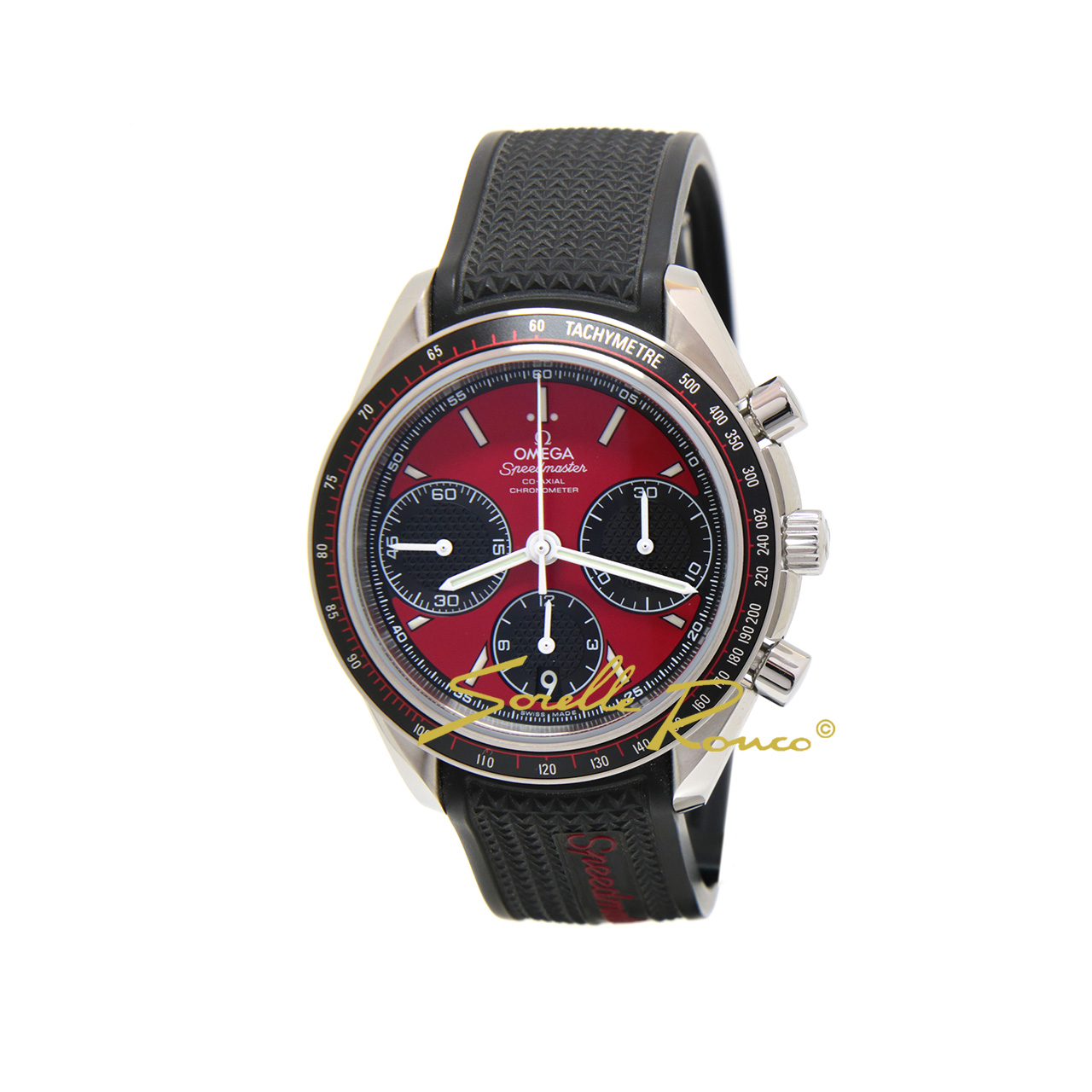 Speedmaster Racing Co-Axial 40mm Rosso NOS