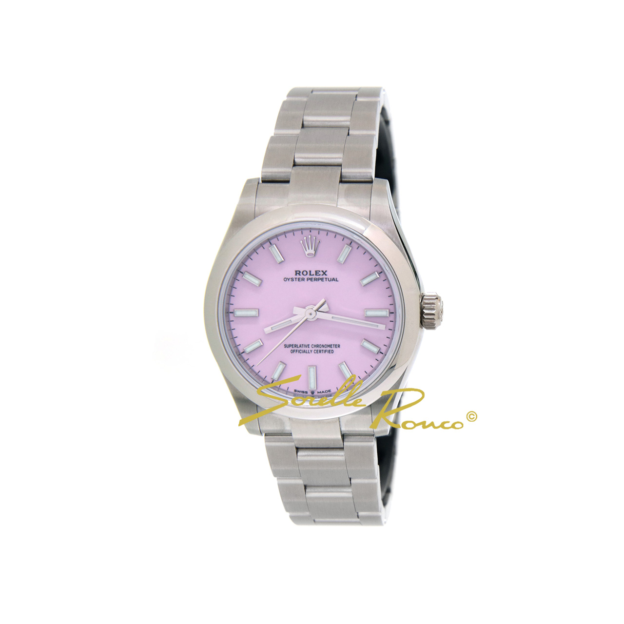 Oyster Perpetual 31mm Rosa Candy Cal. 2232 Lady